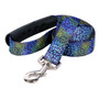 Flowerworks Blue EZ-Grip Dog Leash