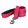 Magenta Simple Solid EZ-Grip Dog Leash