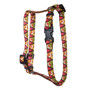Fall Fox Roman Style H Dog Harness