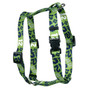 12th Dog Green Roman Style H Dog Harness