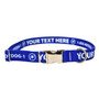 Premium Personalized Dog Collar with Metal Clasp