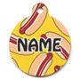 Hot Dogs HD Pet ID Tag