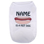 Personalized Hot Dogs Pet T-Shirt