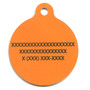 Candy Corn HD Dog ID Tag