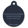 Pumpkin Party HD Dog ID Tag