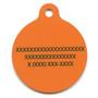 Halloween Polka Dot HD Dog ID Tag