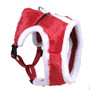 Plush Santa Soft Dog Harness