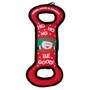 Santa Paws Christmas Tug and Toss Dog Toy