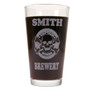 Personalized Pint Glass Beer Mug - Captain Bones
