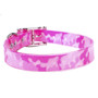 Pink Camo Elements Waterproof Dog Collar
