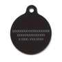 White Hearts HD Dog ID Tag