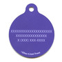 Valentines Owls HD Dog ID Tag