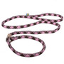Braided Rope Two Color Slip Leash For Dogs