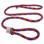 Blue and Orange Rope Slip Leash For Dogs