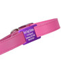 Personalized Slide-On Dog Collar Tag