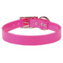 Solid Pink Elements Waterproof Dog Collar