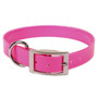 Solid Pink Elements Dog Collar