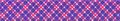 Purple and Pink Diagonal Plaid