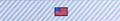 Seersucker Blue with American Flags