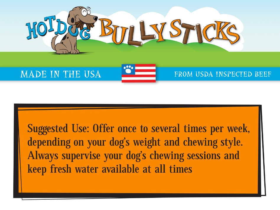 US Made Bully Sticks
