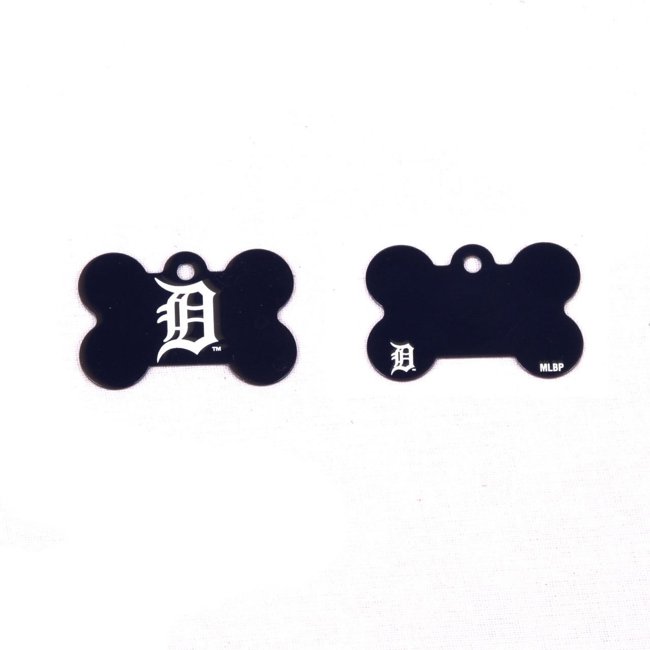 Detroit Tigers Pet Id Tag With Engraving At Hotdogcollars Com