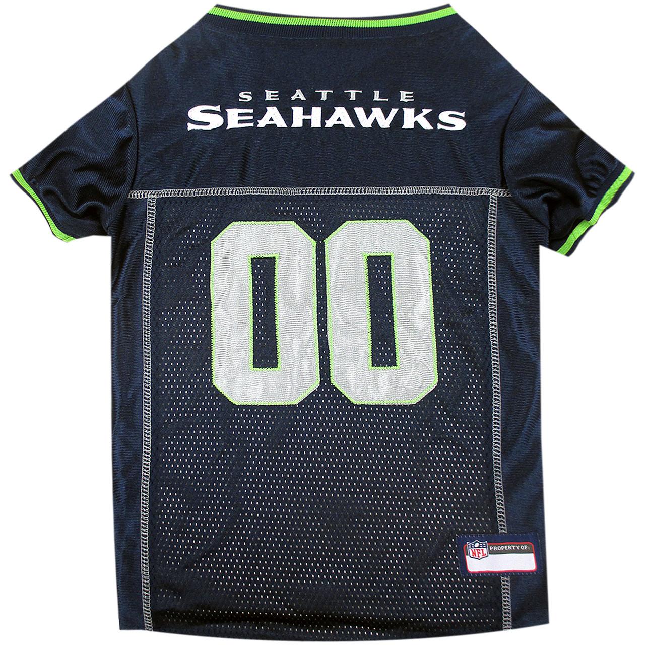 Seattle Seahawks PREMIUM NFL Football Pet Jersey