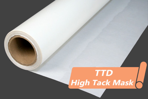 TTD High Tack Mask - Print and Cut Material