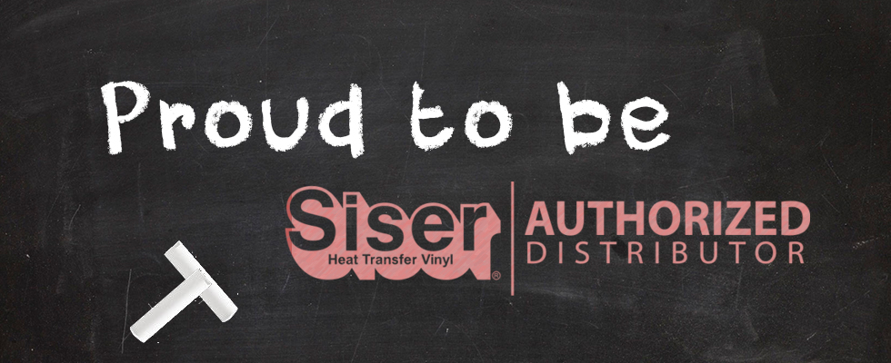Proud to be Siser Authorized Distributor