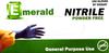 Emerald Nitrile Powder-Free 3 Mil GP (CS/1000)