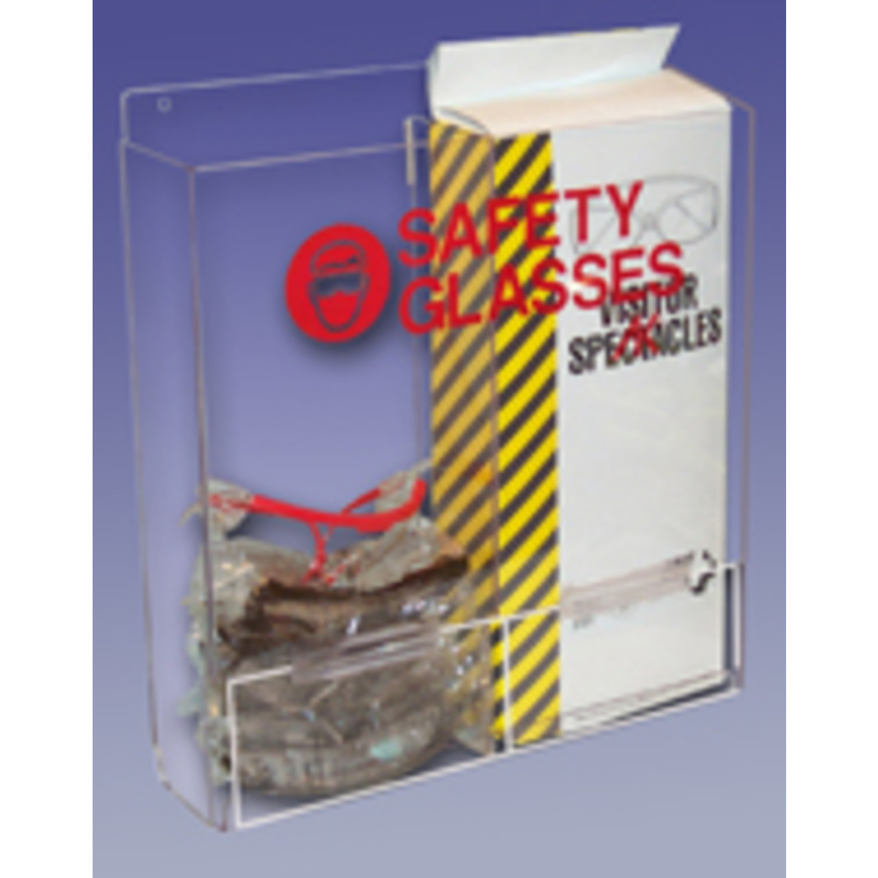 Safety Glass Dispenser, Double
