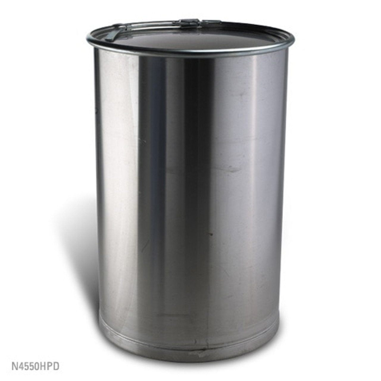Stainless Steal Open Head Process Drum: 55 Gallon