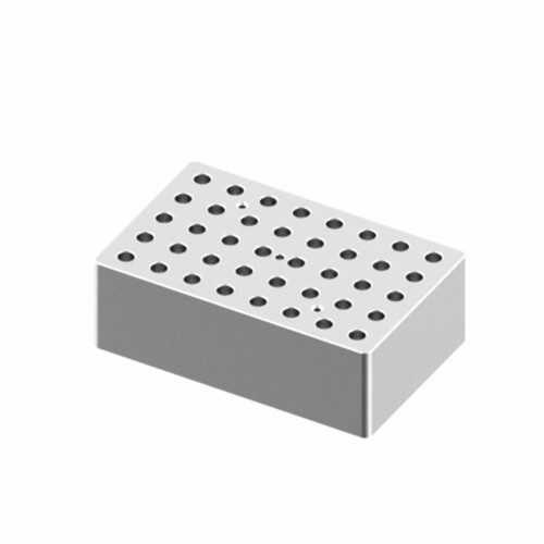 HB120-S Block - For 0.5mL Tubes, 40 Holes