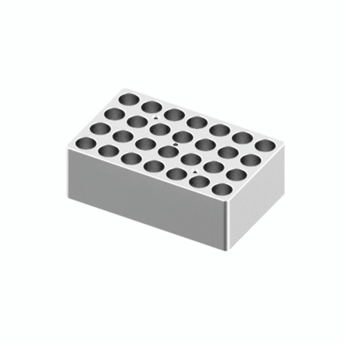 HB120-S Block - For 5/15mL Tubes, 28 Holes