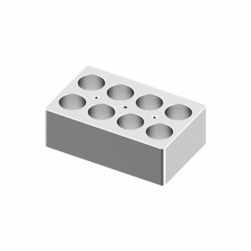 HB120-S Block - For 50mL Tubes, 8 Holes