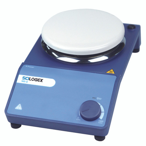 Scilogex MS-S Circular Analog Magnetic Stirrer, Ceramic Plate