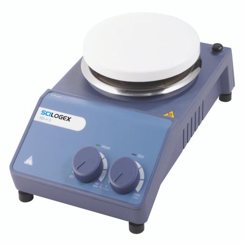 Scilogex MS-H-S Analog Circular Magnetic Hotplate Stirrer, Ceramic Plate