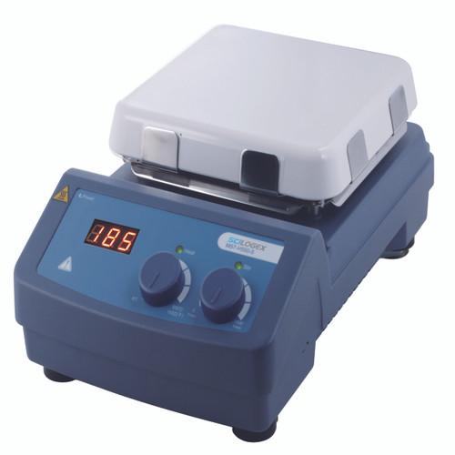 Scilogex MS7-H550-S LED Digital Square Magnetic Hotplate Stirrer, Ceramic-Glass Plate