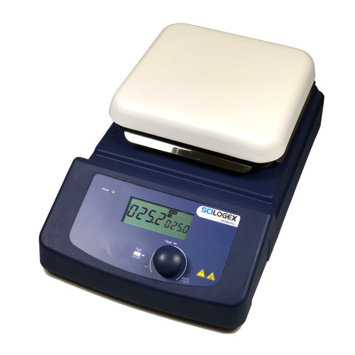 Scilogex HP380-Pro LCD Digital 5.5 x 5.5 in. Hotplate, ceramic plate, 110V, 50/60Hz