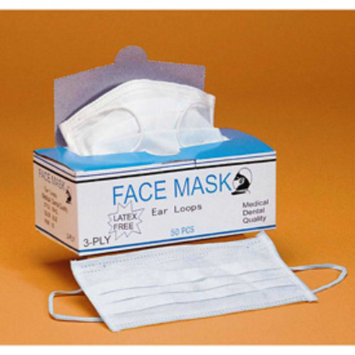 Face Mask - FM - EL White