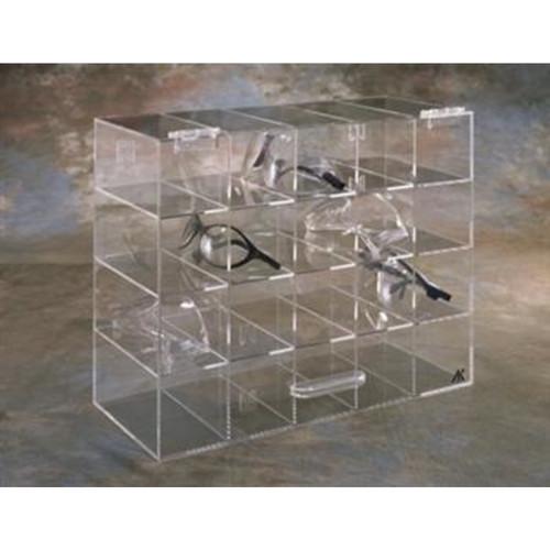 20 Unit Safety Glass Holder w/ Door