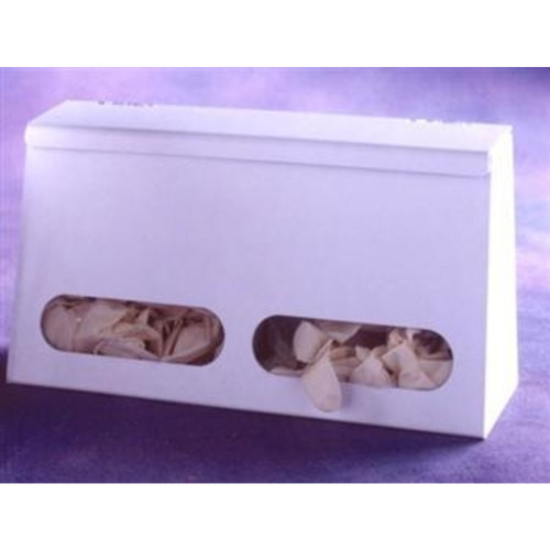 Two Compartment Bulk Glove Dispenser