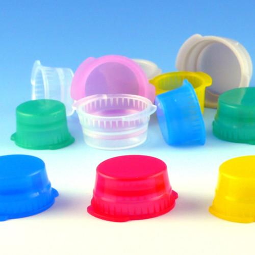 Snap Cap (10mm) - Single Thumb Tab, for Vacuum & Test Tubes, Bag/1000