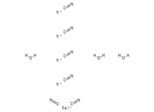 """Potassium Ferrocyanide 3H20;""""CAS #=14459-95-1"""";Grade=ACS"""