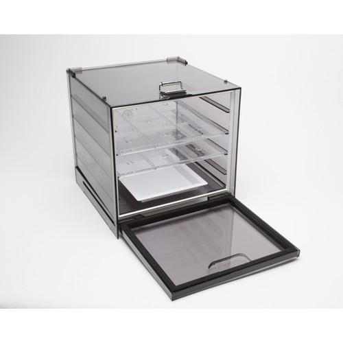 Dry-Keeper Stacking Polystyrene Desiccator Cabinet, .35CU