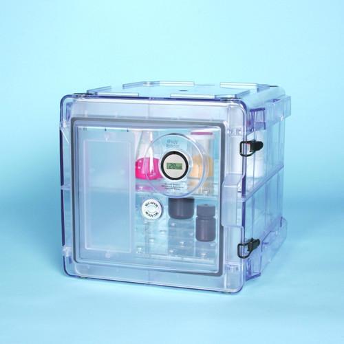 Secador Clear 1.0 Gas-Purge Desiccator Cabinet, 0.7CU