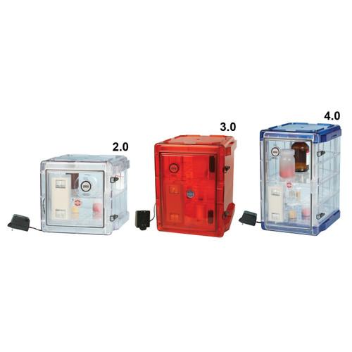 Secador Clear 3.0 Auto-Desiccator Cabinet, 1.6CU, 120V