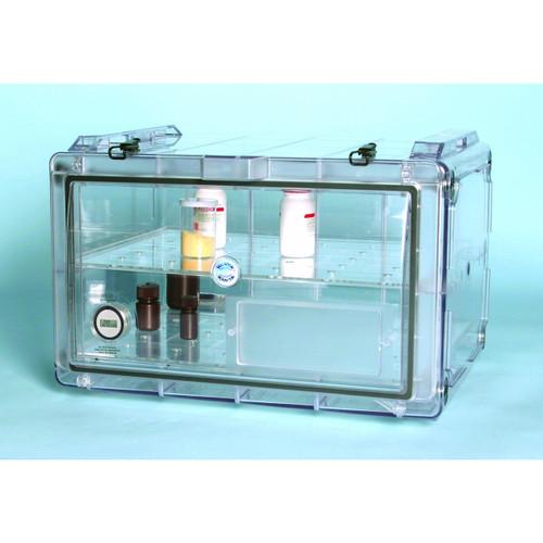 Secador Clear 4.0 Horizontal Gas-Purge Desiccator Cabinet, 1.9CU