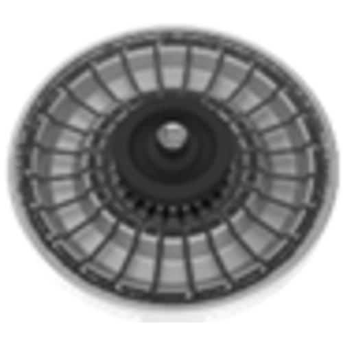Mini HCT Rotor for BenchMate C1215V Centrifuge (24x45 Capillary Tubes)