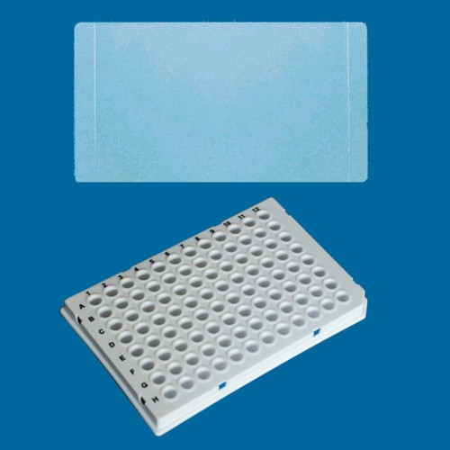 96-Well PCR Plate Low Profile w/ Sealing Film (5 Bags of 10)