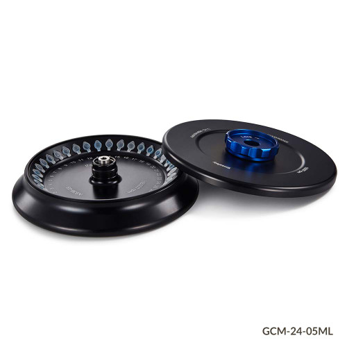 GCM-24 Series Rotor: 0.5mL MCTs, 36-Place